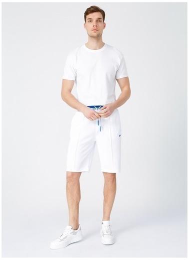 Fabrika Sports Fabrika Sports Erkek Beyaz Sweat Şort Beyaz